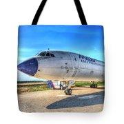 Malev Airlines Tupolev Tu-154 Tote Bag