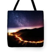 Malibu Canyon Ring Of Fire Tote Bag