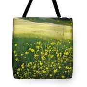 Malibu Creek Wildflowers Tote Bag