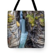Maligne Canyon Cascades Tote Bag