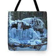Maligne Canyon Winter Wonders Tote Bag
