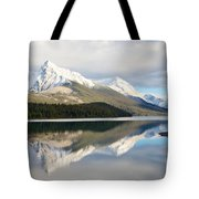 Malingne Lake Reflection, Jasper National Park  Tote Bag