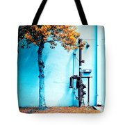 Mall Pipe Tote Bag