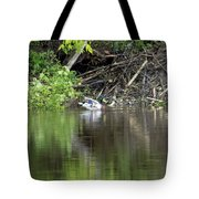 Mallard And Beaver Den Tote Bag