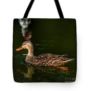 Mallard Contrasted Tote Bag