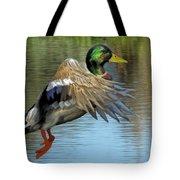 Mallard Digital Freehand Painting 3 Tote Bag