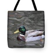 Mallard Drake Duck Tote Bag