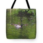 Mallard Family Tote Bag