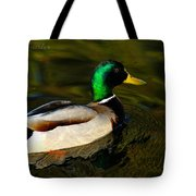 Mallard Green Tote Bag