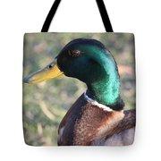 Mallard Green Tote Bag
