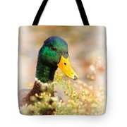 Drake In The Flowers Tote Bag
