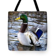 Mallard Moment Tote Bag