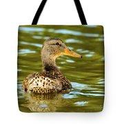 Mallard Or Wild Duck - Anas Platyrhynchos Tote Bag