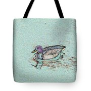 Mallards Edge Tote Bag