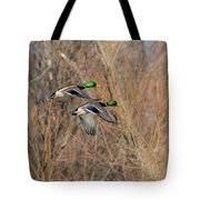 Mallard's In Flight Tote Bag