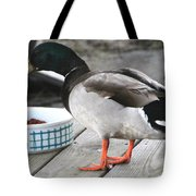 Mallards Like Cat Food Tote Bag