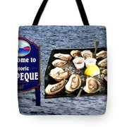 Malpeque Oyster Poster Tote Bag