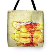 Malt Waffles Tote Bag