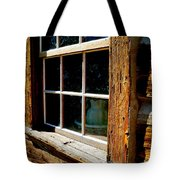 Maltese Cross Cabin Window Tote Bag