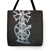 Maltese Cross Gears Tote Bag