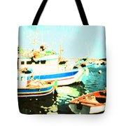 Maltese Harbor Tote Bag