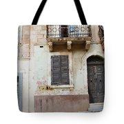 Maltese House On A Steep Street Tote Bag