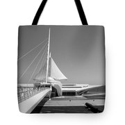 Mam Spreading Wings B-w Tote Bag