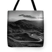 Mam Tor In Derbyshire Tote Bag