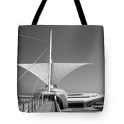 Mam Wings Spread B-w Tote Bag