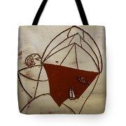 Mama 8 - Tile Tote Bag