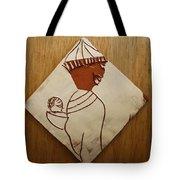 Mama 9 - Tile Tote Bag