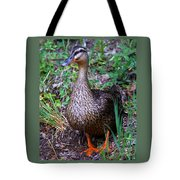 Mama Duck Tote Bag