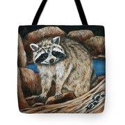 Mama Racoon Tote Bag