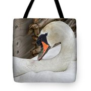 Mama Swan At Abbotsbury Tote Bag