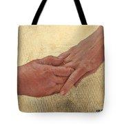 Mama's Hand Tote Bag