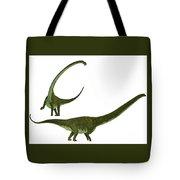 Mamenchisaurus Hochuanensis Tote Bag