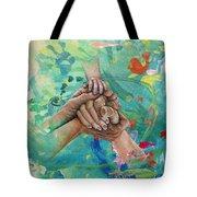 Mamma's Hands Tote Bag