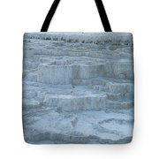Mammoth Hot Springs Travertine Terraces One Tote Bag