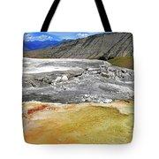Mammoth Hot Springs1 Tote Bag