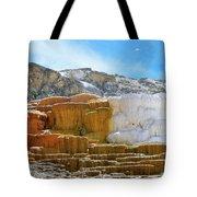 Mammoth Hot Springs4 Tote Bag