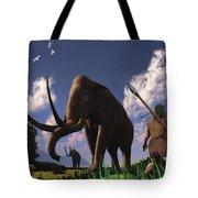 Mammoth Hunters Tote Bag