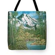 Mammoth Mountain Tote Bag