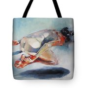 Man And Fish 5 Tote Bag