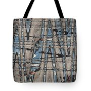 Man At The Lake Tote Bag