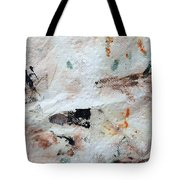 Man Chased By Mountain Lion Tote Bag