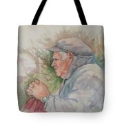 Man From Aran Tote Bag
