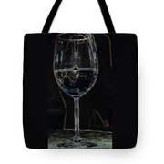 Man In A Glass Tote Bag