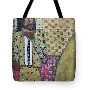 Man In A Golden Suit Tote Bag