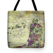 Man In A Suit By Mary Bassett Tote Bag