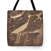 Man In Beak Tote Bag